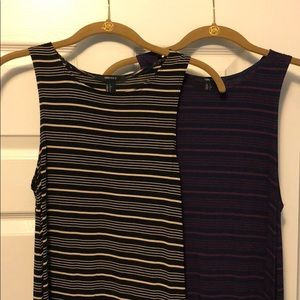 two forever 21 swing skater dresses size small